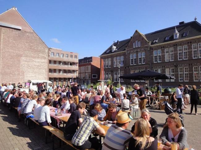 Kanen bij de Kerk Haarlem 4