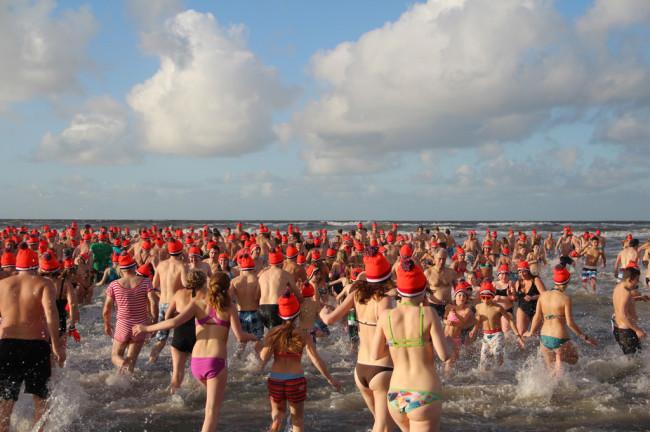 Nieuwjaarsduik Zandvoort
